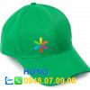 in logo trên mũ